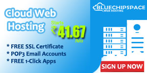 Web Hosting at Rs. 41.67!