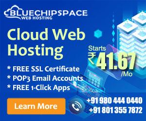 Cloud Web Hosting starts at Rs.41.67